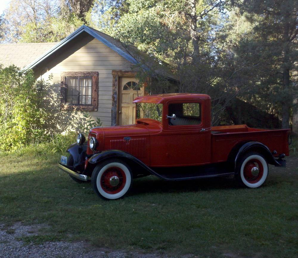 1926 Ford 1920s Cabin